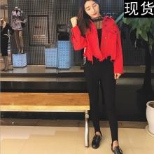 Lin Edition Limit 时髦尖货 高弹力街拍时髦高腰修身踩脚裤