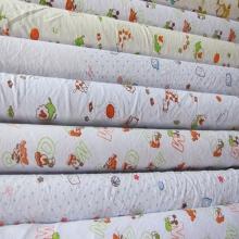 莱卡童装花布 库存纺织品 针织全棉印花面料