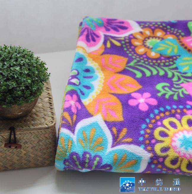 花色珊瑚绒儿童休闲毯 夏季空调毯盖毯午休针织毯
