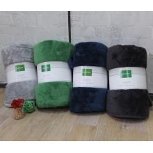 北极绒舒棉绒床毯 沙发毯盖毯休闲毯