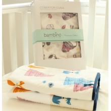 超柔珊瑚绒婴儿毛毯 双层毯空调毯午休毯卡通毯子