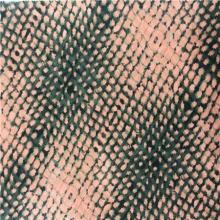 春夏季豹纹印花休闲女装涤纶化纤