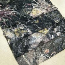 春夏时尚女装面料  特色的网布绣花面料 各种花型等你来选