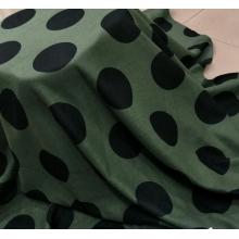 欧美大牌时尚欧雅呢印花 大圆点花型系列 各种颜色任你挑选