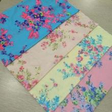 春夏时尚女装面料  时尚平板布印花 各种花型等你来挑选