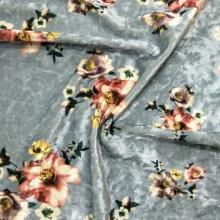 秋冬女装钻石绒印花面料 大牌范的时尚女装花型等你来选