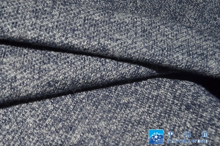 粗针卫衣布料