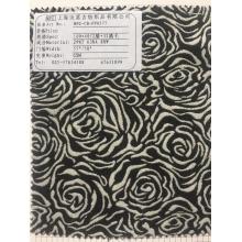 供应涤纶腈纶腈毛混纺提花时装面料