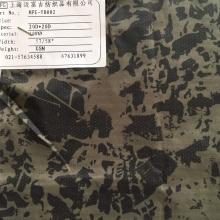 冷转移印花 20D锦纶羽绒服面料 实拍现货