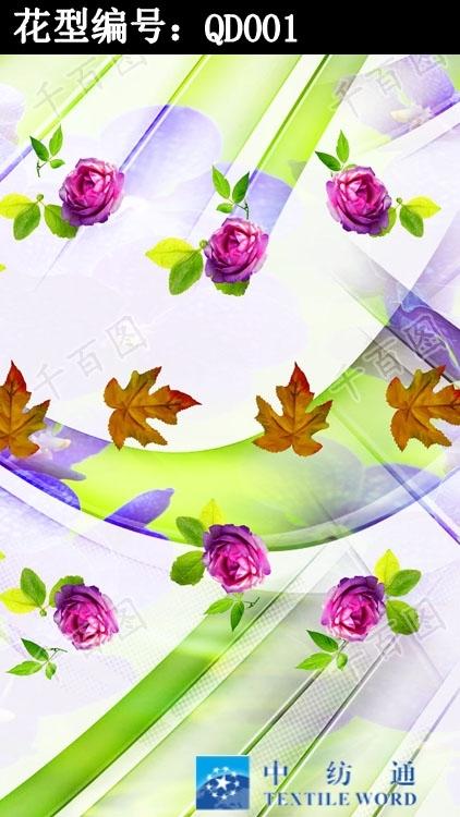 数码花型,印花花型,亚博国际网站首页花型
