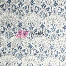 新款锦棉蕾丝 复古扇形蕾丝花型 女装连衣裙裤装蕾丝面料 现货
