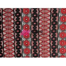 新款锦棉蕾丝 民族风特色蕾丝花型 女装连衣裙蕾丝面料 现货