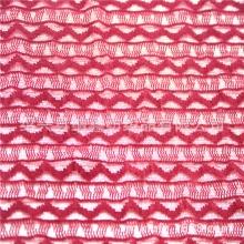 时尚蕾丝植绒面料