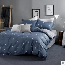 纯棉卡通家纺床品面料印花布 全棉纹宽幅 被套 床单棉布现货批发