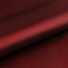 现货供应 66D*75D渔网格全涤提花里布 服装用布面料批发多色可选