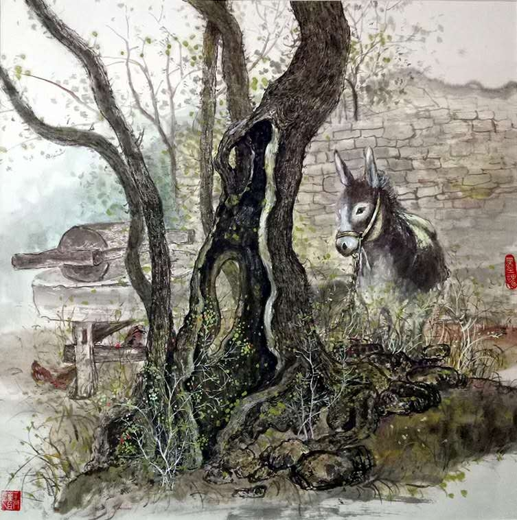 王亚臣国画艺术品