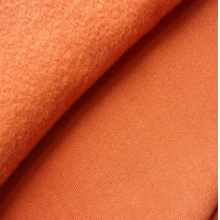 厂家直销 全涤半光150d96f单面绒 超柔单面绒面料
