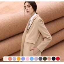 70%羊毛双面羊绒毛呢面料顺毛呢加厚800克秋冬大衣外套毛纺布料 举报