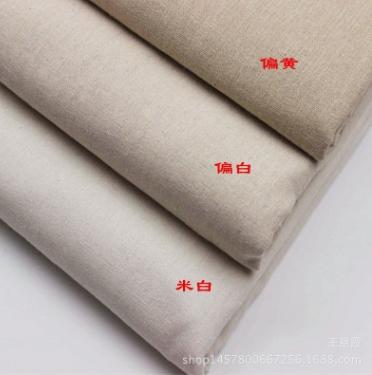 厂家直销 亚麻亚博国际网站首页 麻布印花 亚麻坯布 背景布 工艺品布 专业印染