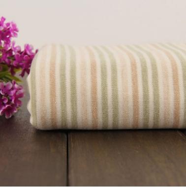 厂家直销全棉天然有机彩棉现货供应 五彩条双面布婴儿用亚博国际网站首页批发