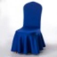新款特厚空气层太阳裙摆椅套 厂家批发高弹力椅套酒店婚庆椅子套